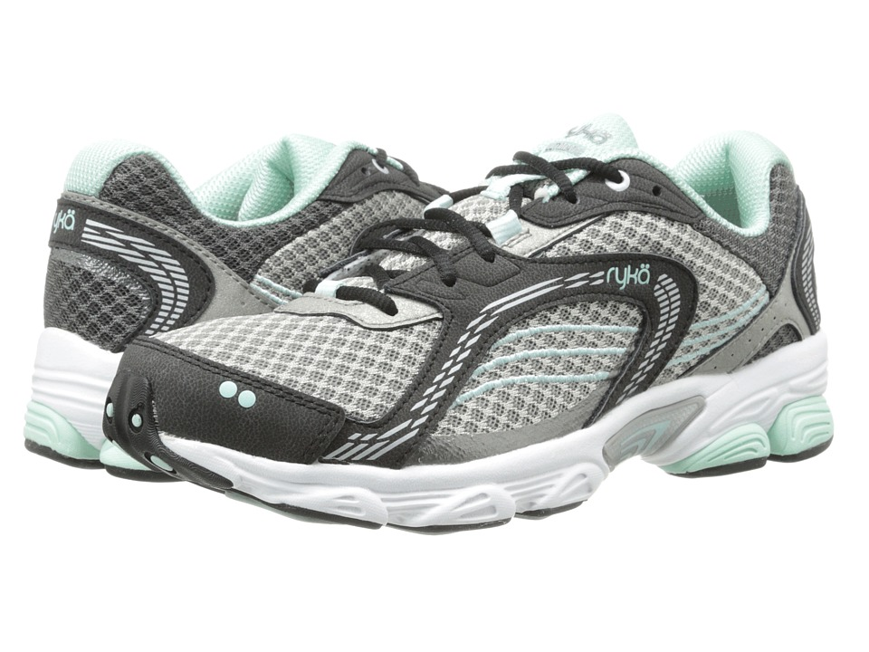 Ryka - Ultimate (Black/Forge Grey/Mint Ice/Chrome Silver) Women