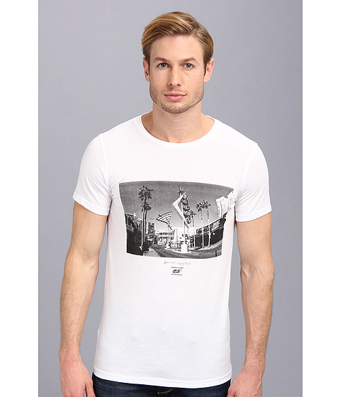 55DSL - DTLV Maglietta Tee (White) Men's T Shirt