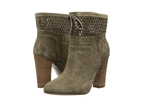 Belle by Sigerson Morrison - Feng (Taupe Alpaca Suede) Women's Pull-on Boots