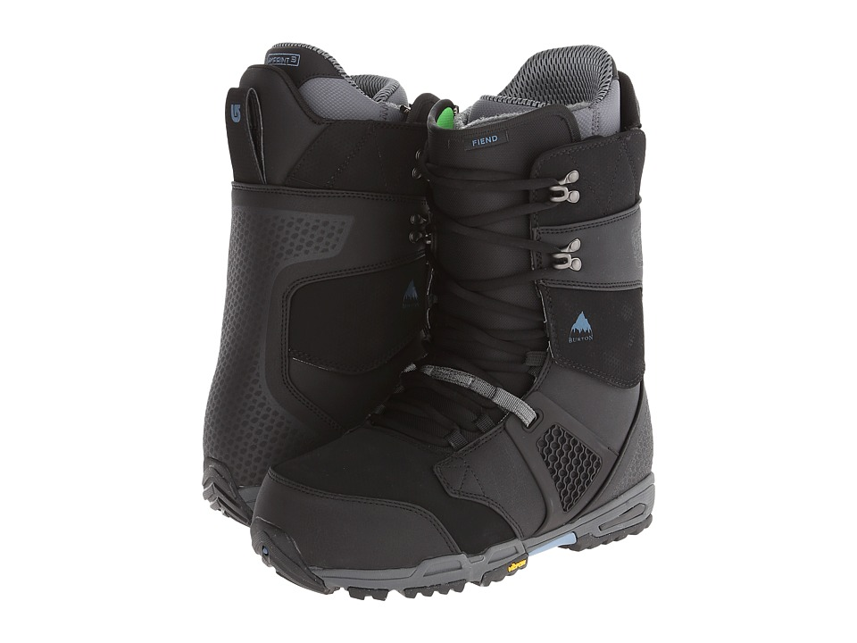 Burton - Fiend (Black/Gray) Men's Cold Weather Boots