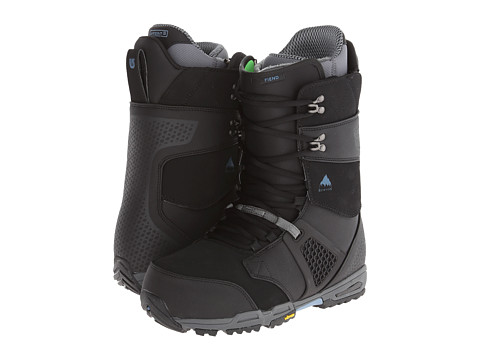 Burton - Fiend (Black/Gray) Men's Cold Weather Boots