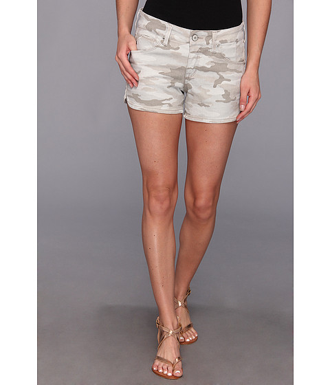 SOLD Design Lab - Perry Street Short Camo Print (Sand Storm) Women's Shorts