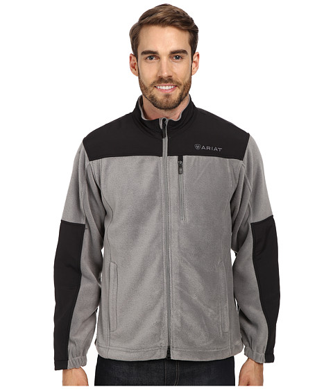 Ariat - Crescent Fleece Jacket (Smudge) Men