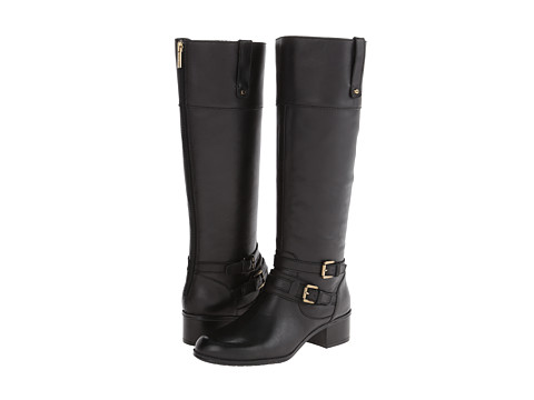 Bandolino - Cavendish (Black Leather) Women's Zip Boots