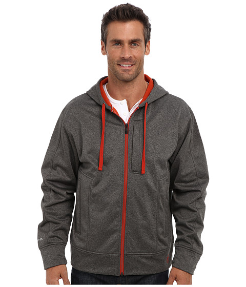 Ariat - Glacier Tek Hoodie (Charcoal Heather) Men
