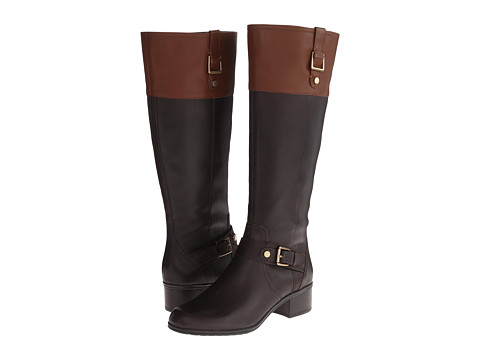 Bandolino - Cranne - W (Dark Brown/Kona) Women's Zip Boots