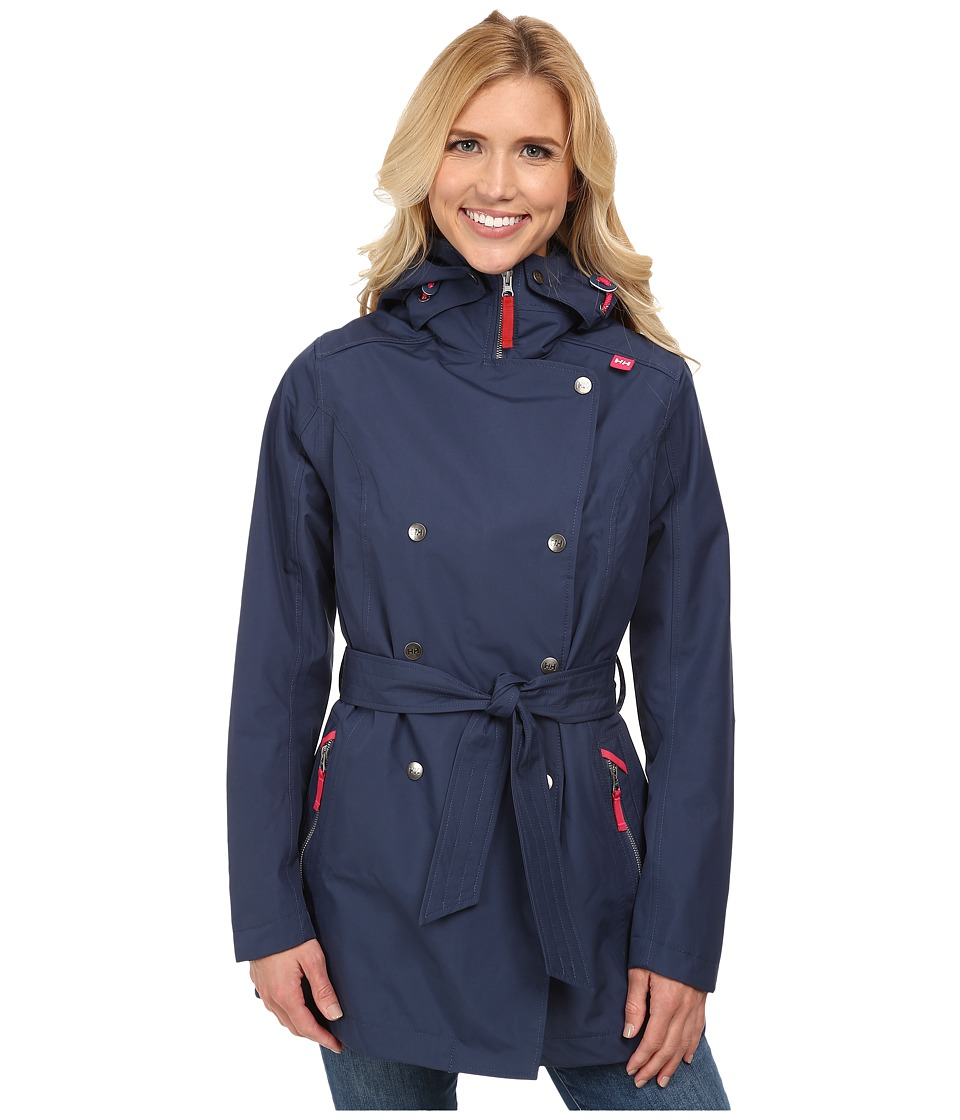 Helly Hansen - Welsey Trench (Deep Steel) Girl's Coat