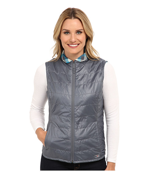Helly Hansen - Jotun Insulated Reversible Vest (Arctic Grey) Girl's Vest
