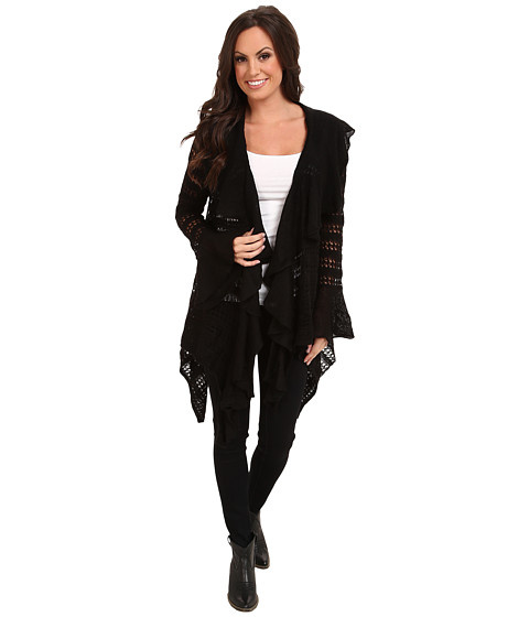Ariat - Hacienda Cardigan (Black) Women's Sweater