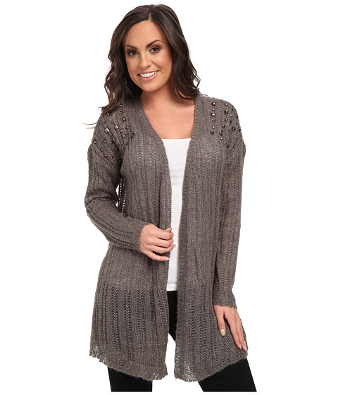 Ariat - Paloma Cardigan (Coal) Women's Sweater