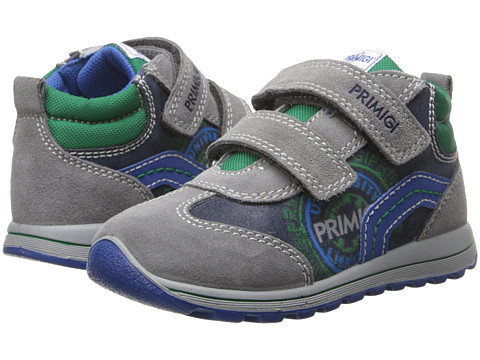 Primigi Kids - Ener (Toddler) (Grey) Boy's Shoes