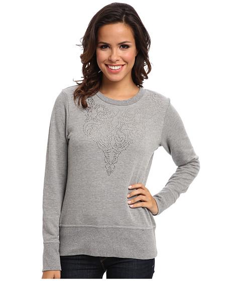 Ariat - Flores Sweatshirt (Heather Gray) Women