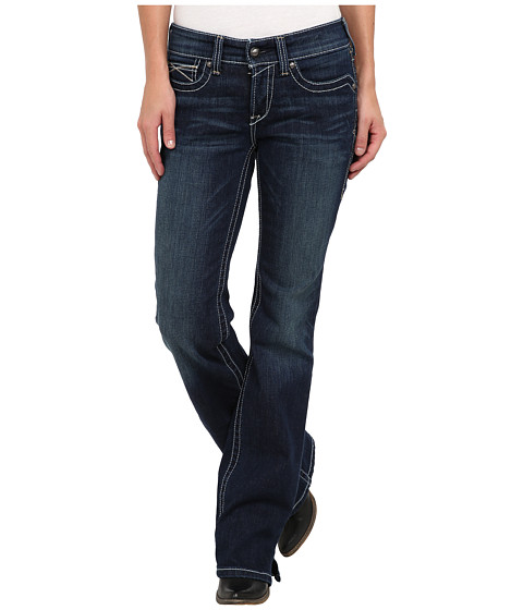 Ariat - R.E.A.L. Riding Jean Whipstitch in Ocean (Ocean) Women's Jeans