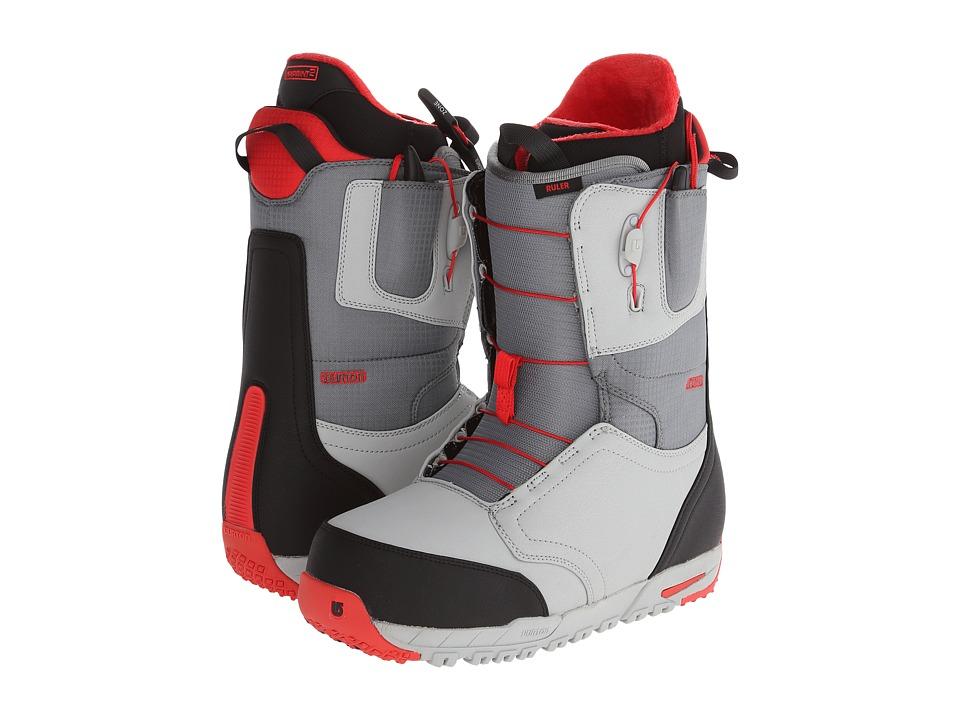 Burton - Ruler (Gray/Black/Red) Men's Snow Shoes