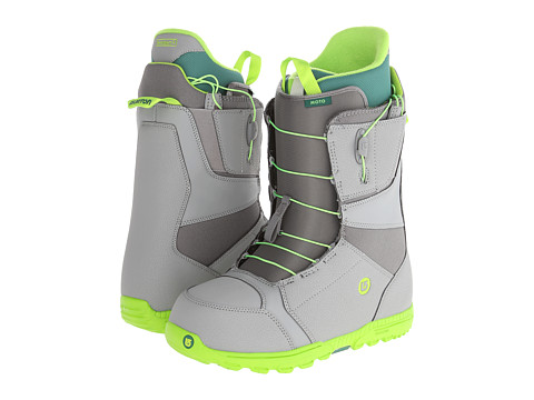 Burton - Moto (Gray/Green) Men's Snow Shoes