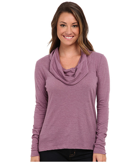 Aventura Clothing - Brea Cowl Neck (Berry Conserve) Women
