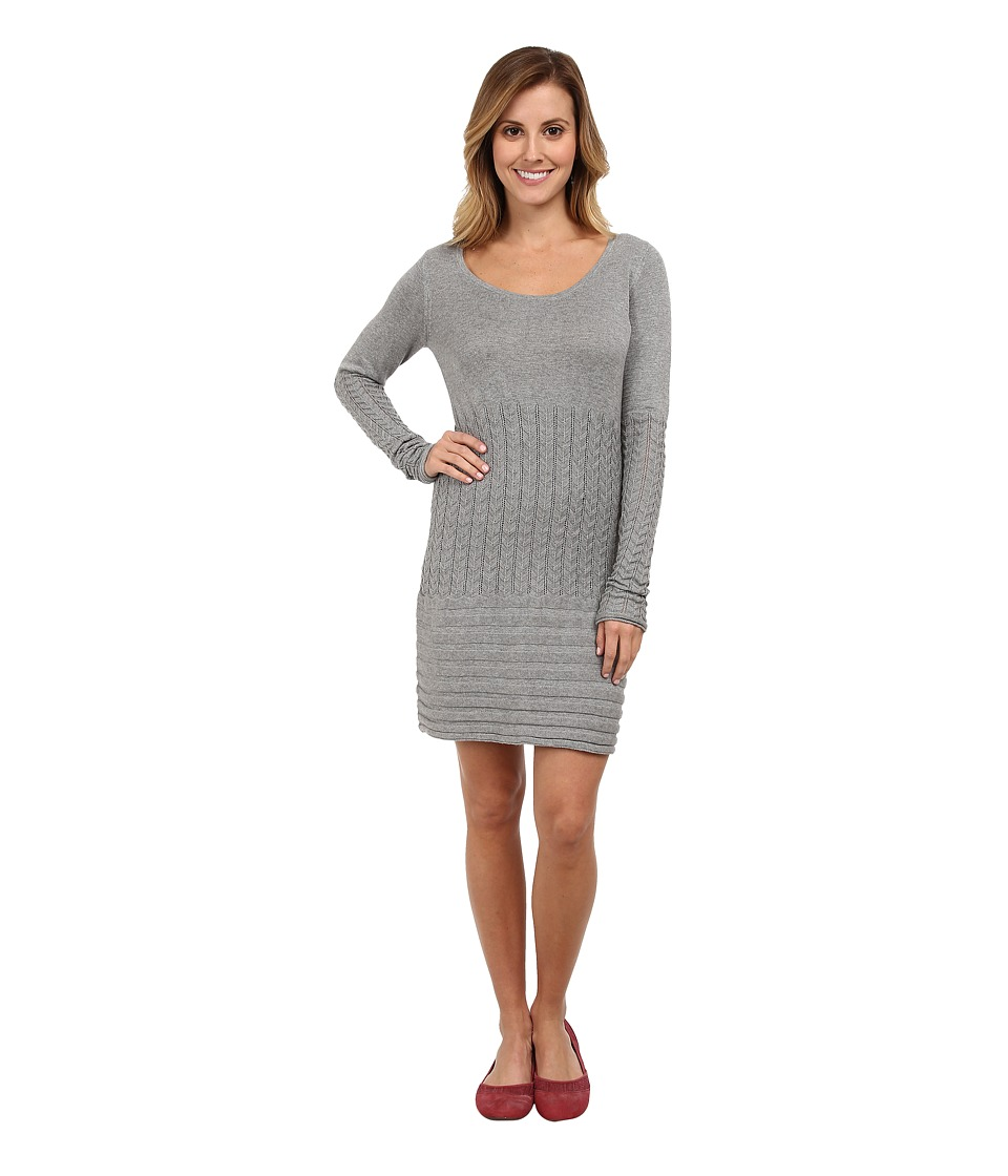 Image of Aventura Clothing - Angela Tunic (Frost Grey) Women's Long Sleeve Pullover