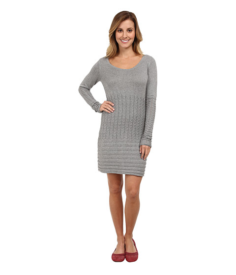 Aventura Clothing - Angela Tunic (Frost Grey) Women's Long Sleeve Pullover