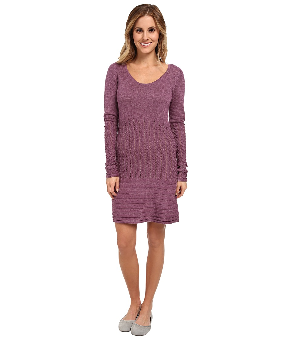 Image of Aventura Clothing - Angela Tunic (Berry Conserve) Women's Long Sleeve Pullover