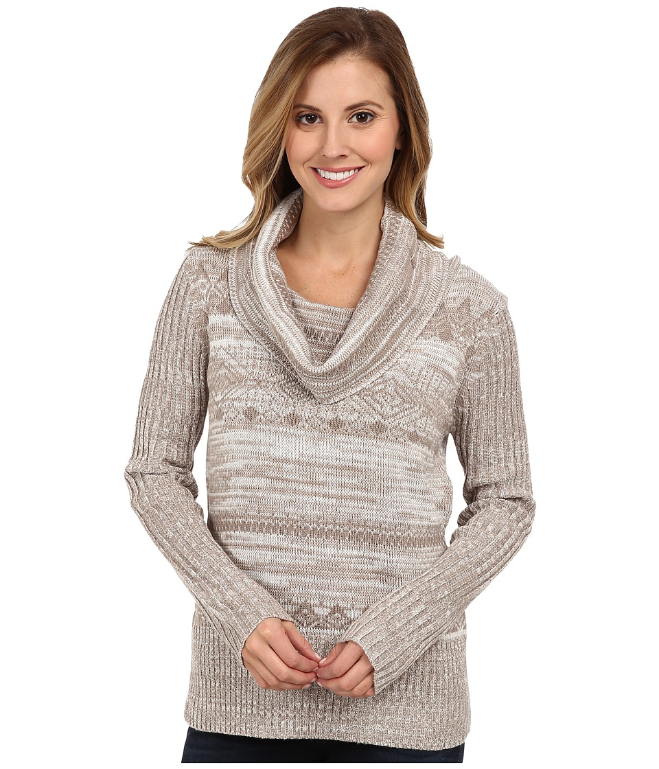 Aventura Clothing - Kalia Cowl Neck Sweater (Whisper White) Women's Sweater