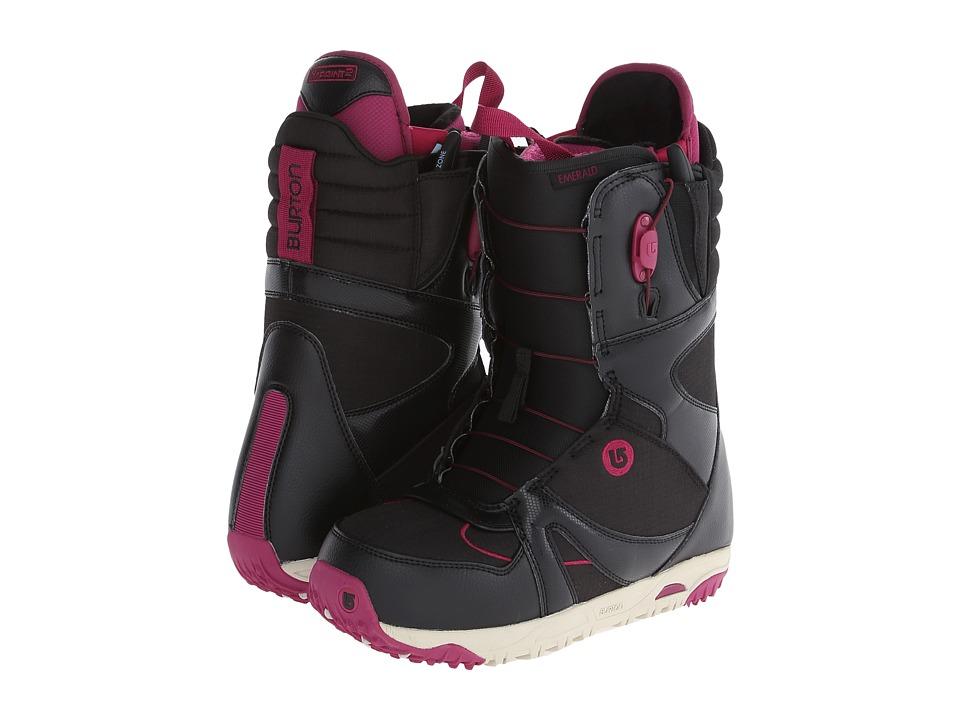 Burton - Emerald (Black/Burgundy/Cream) Women's Snow Shoes