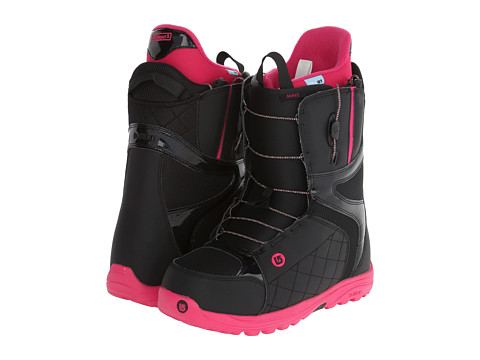 Burton - Mint (Black/Hot Pink) Women