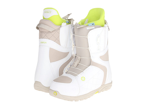 Burton - Mint (White/Tan) Women's Snow Shoes