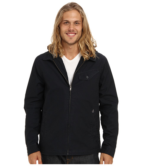 Volcom - Bashi Jacket (Black) Men's Coat