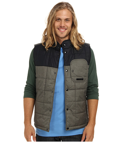 Volcom - Vestitude Vest (Slate Grey) Men