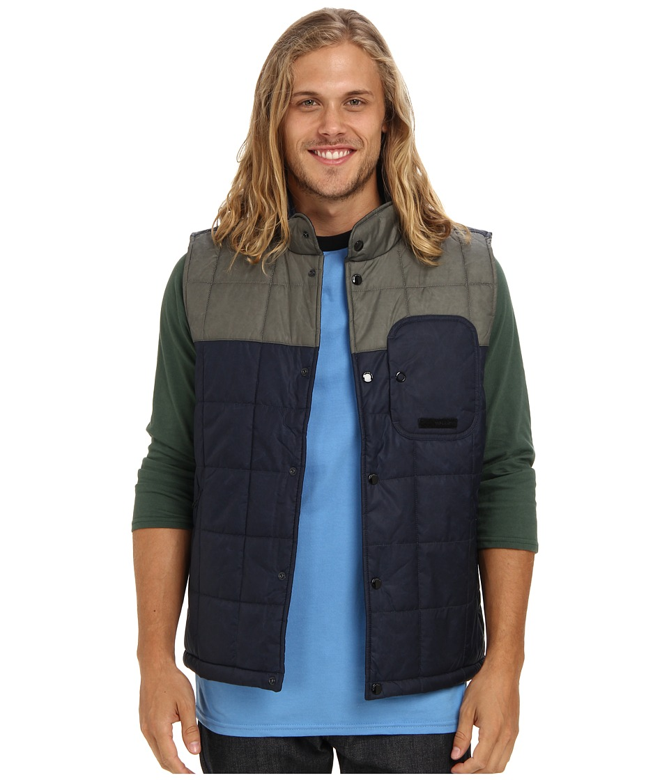Volcom - Vestitude Vest (Vintage Navy) Men's Vest