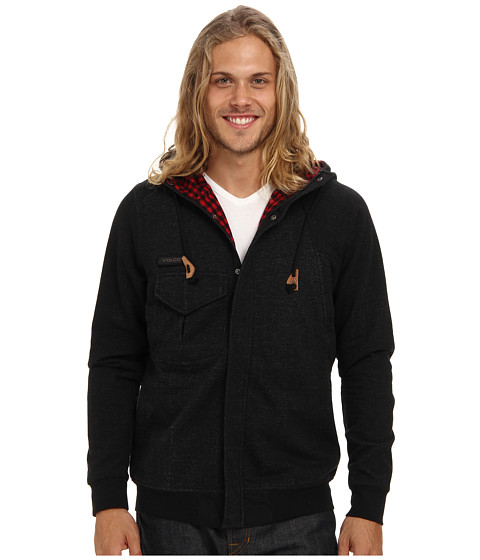 Volcom - Boneyard Lined Fleece (Black) Men's Coat