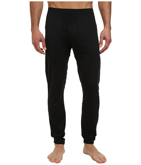 Hot Chillys - Bi-Ply Bottom (Black) Men's Clothing