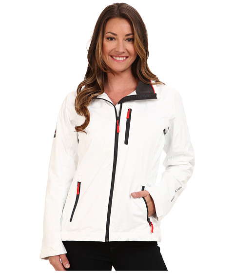 Helly Hansen - Crew Midlayer Jacket (White) Girl's Coat