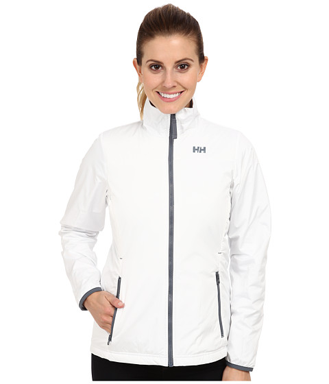 Helly Hansen - Regulate Midlayer Jacket (White/Frozen/Arctic Gre) Girl's Jacket