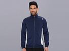 Reebok Track Jacket (Athletic Navy) Men's Coat