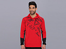 Reebok Graphic Hoody (Excellent Red) Men's Sweatshirt