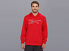 Reebok Workout Ready Vector Performance Fleece Hoody (Excellent Red) Men's Sweatshirt