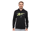 Reebok Workout Ready Vector Performance Fleece Hoody (Black) Men's Sweatshirt