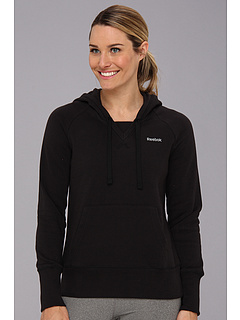 SALE! $24.99 - Save $25 on Reebok Fleece Brush Back Hoodie (Black Black) Apparel - 50.02% OFF $50.00