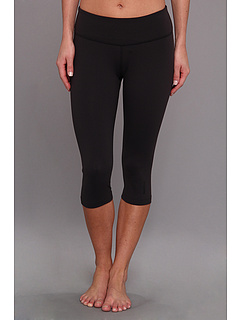 SALE! $21.99 - Save $23 on Reebok Yoga Capri Tight (Black) Apparel - 51.13% OFF $45.00