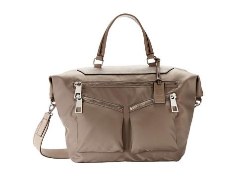 Vince Camuto Celia Satchel (Taupe) Satchel Handbags