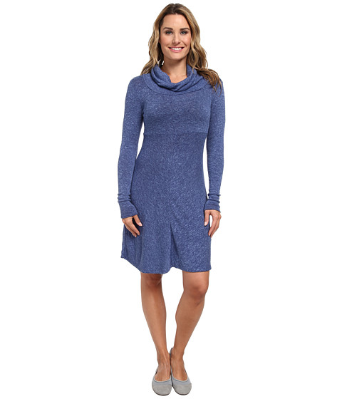 Aventura Clothing - Orly Cowl Neck Dress (Twilight Blue) Women