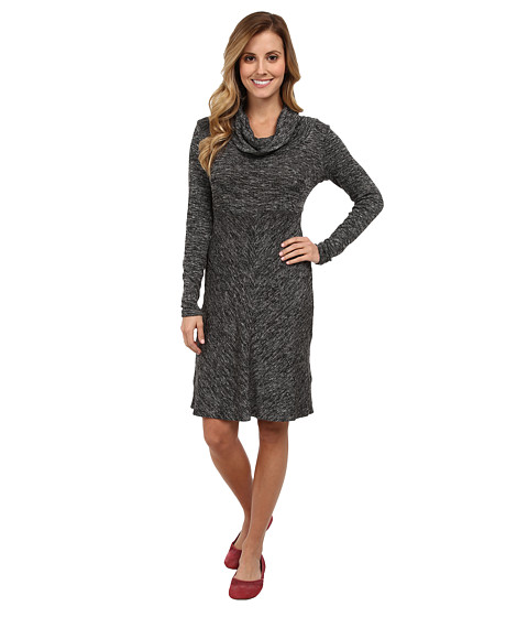 Aventura Clothing - Orly Cowl Neck Dress (Black) Women