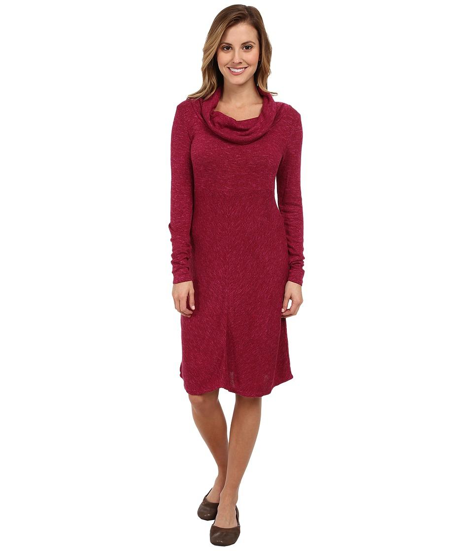 Aventura Clothing - Orly Cowl Neck Dress (Beaujolais) Women