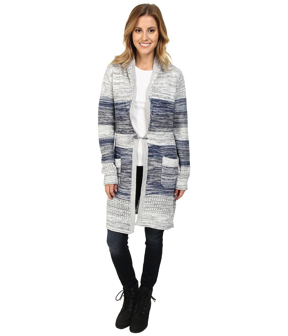 Aventura Clothing - Miranda Sweater Jacket (Federal Blue) Women's Coat