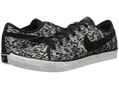 Nike - Primo Court Canvas Print (Magnet Grey/Summit White/Black) Women
