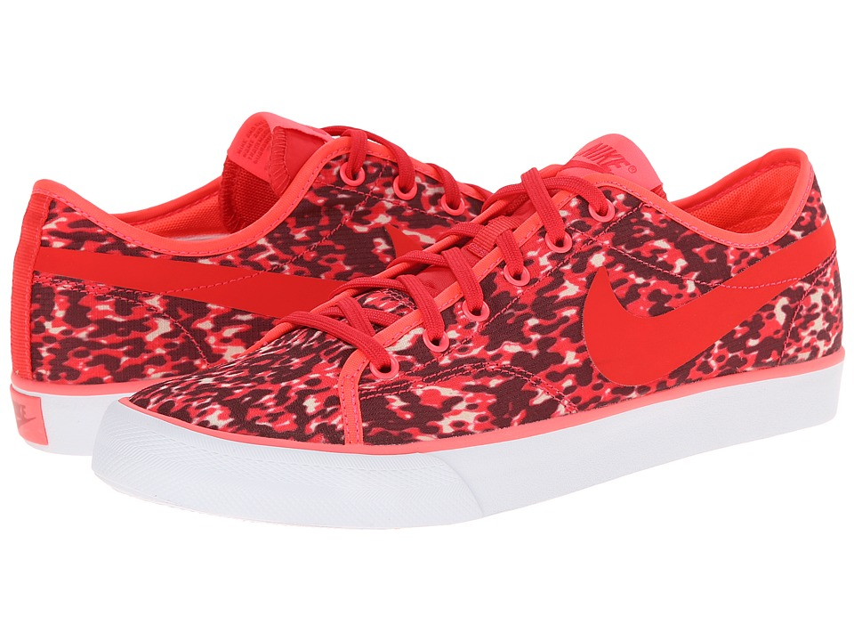 Nike - Primo Court Canvas Print (Action Red/Hyper Punch/Summit White/Action Red) Women