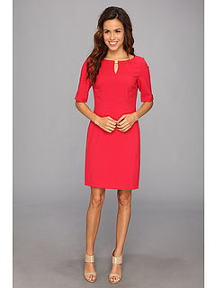 SALE! $67.99 - Save $60 on Tahari by ASL Winnie Z Dress (Hibiscus Red) Apparel - 46.88% OFF $128.00