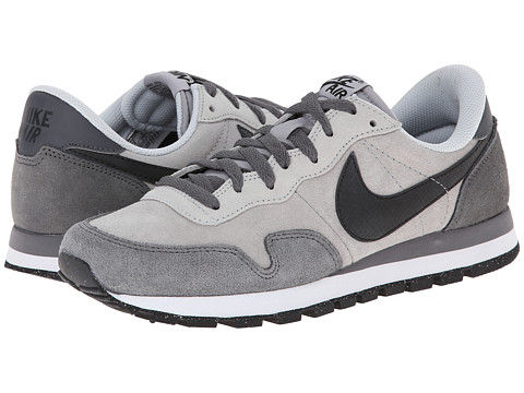 Nike - Air Pegasus 83 Leather (Wolf Grey/Dark Grey/Cool Grey/Black) Men's Classic Shoes