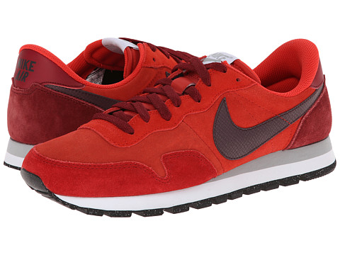 Nike - Air Pegasus 83 Leather (Red Clay/Gym Red/Team Red/Deep Burgundy) Men